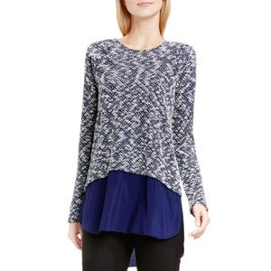 Two by Vince Camuto sweater with shirttail hem